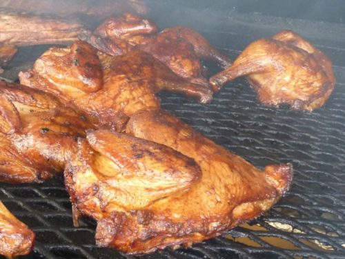 Chicken Bar-B-Q and Pit Beef, Ham, or Turkey Sale